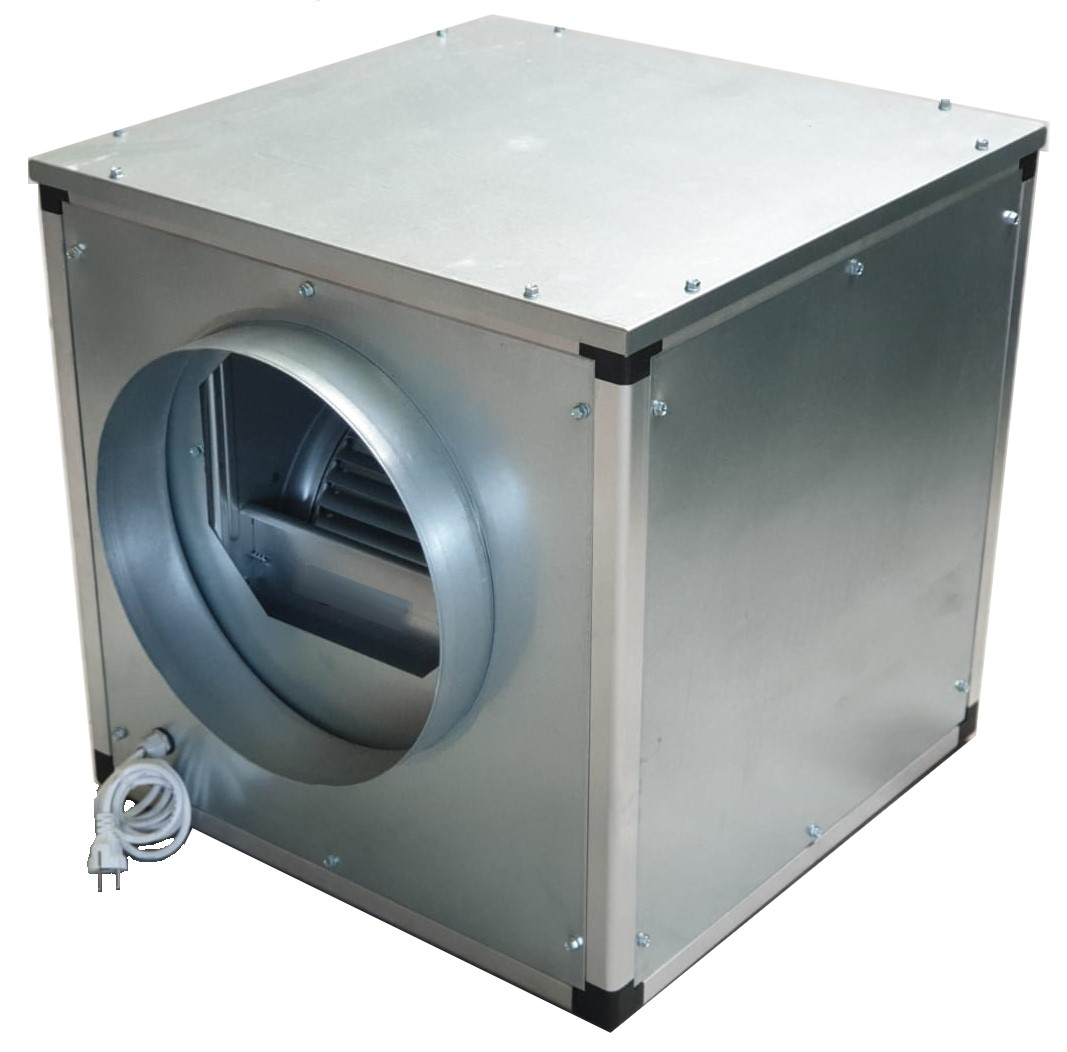 Dubbelwandige ventilatorboxen