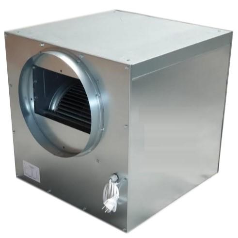Stalen ventilatorboxen frequentie geregeld
