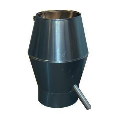 Deflectorkappen Aluminium Rond