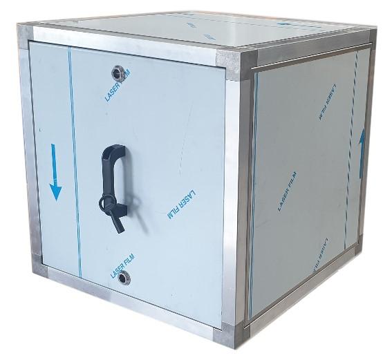 Afzuigbox met inspectieluiken (Aluminium)