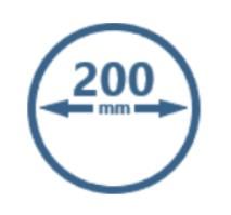 Buisventilatoren 200mm