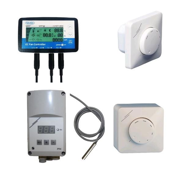 EC ventilator regelaars (0-10V)