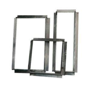 Flenzen / Aansluitstukken Aluminium Vierkant
