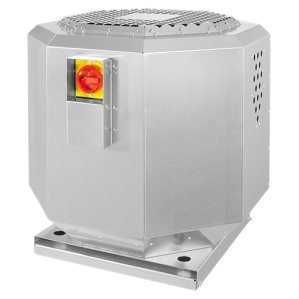 Horeca dakventilatoren tot 120°C / Geïsoleerd