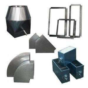 Vierkante hulpstukken aluminium