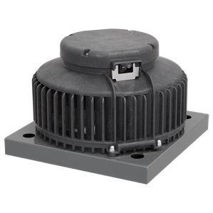 Kunststof dakventilatoren EC met werkschakelaar en constante drukregeling