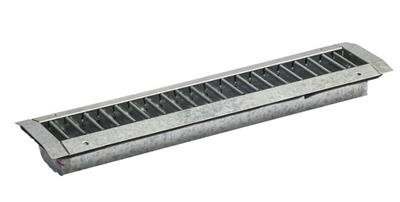 Kanaalroosters H115mm voor spirobuis Ø300-900mm