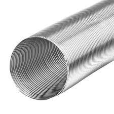 Starre aluminium ventilatieslang