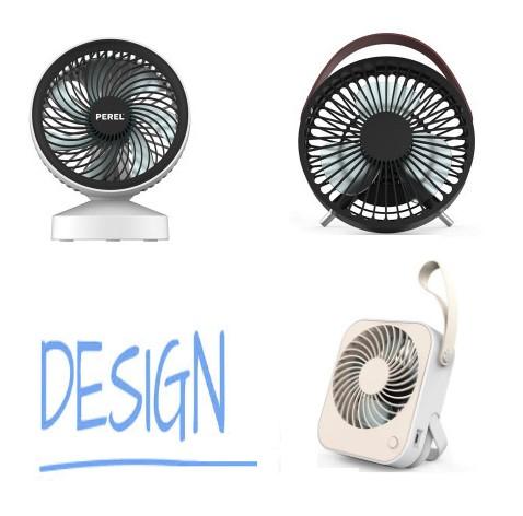 Ventilatoren met usb