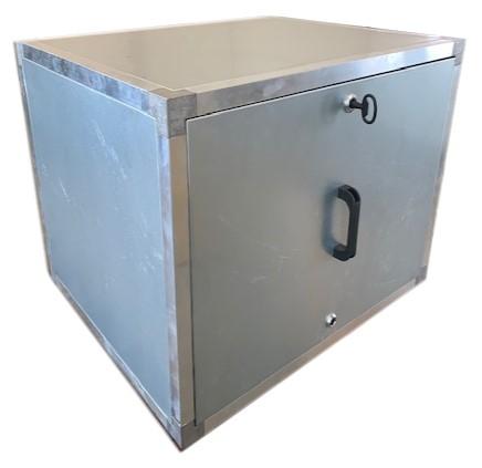Afzuigbox met inspectieluiken