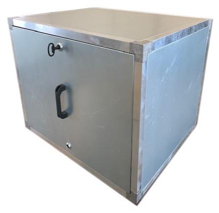 Afzuigbox met inspectieluiken (Staal)