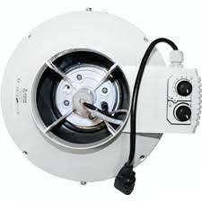 Buisventilator met thermostaat en regelaar S-vent BKU