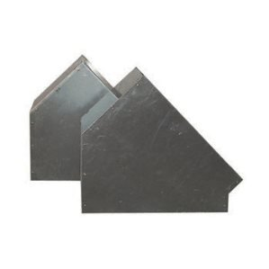 Bochten 45º Aluminium Vierkant