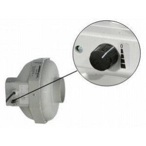 Can-Fan buisventilator RK LS met geïntegreerde snelheidsregelaar