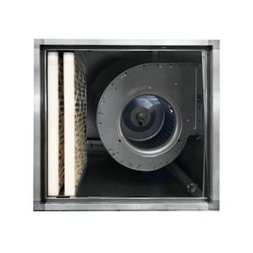 Filterbox (toevoer) met doosfilters