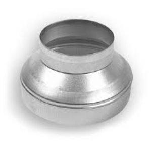 Verlopen naar diameter 160mm