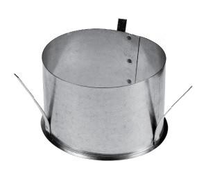 3-lips Metalen houder tbv Systeemplafond Diameter Ø 100mm