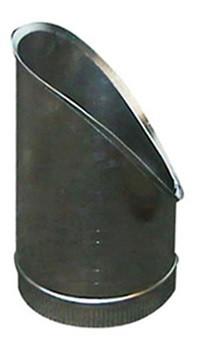 T-Stuk Los Schuin Aluminium Rond Diameter Ø 400 mm
