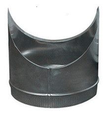 T-Stuk Los Aluminium Rond Diameter Ø 180 mm