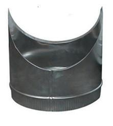 T-Stuk Los Aluminium Rond Diameter Ø 200 mm