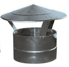 Dakkap Aluminium / Chinezen Hoed Rond Ø 100 mm