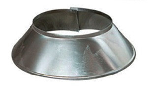 Stormkraag Aluminium Rond Diameter Ø 150 mm
