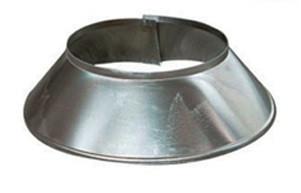 Stormkraag Aluminium Rond Diameter Ø 500 mm