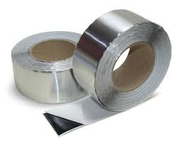aluminium tape 75mm x 50mtr
