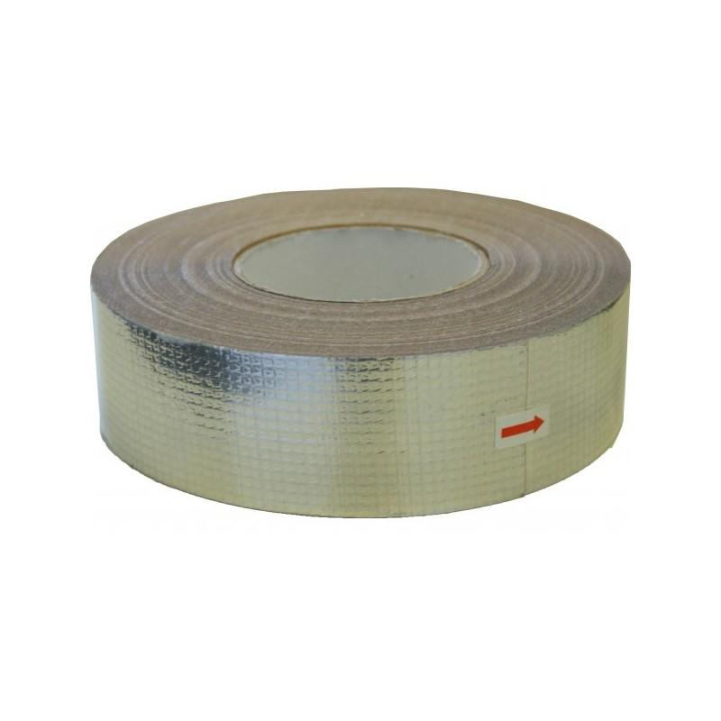 Aluminium tape glasvezelversterkt 50mm x 60mtr