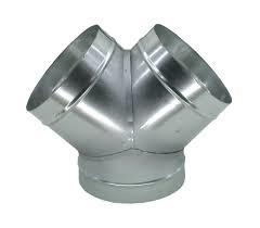 Broekstuk diameter 200mm 2x 125mm