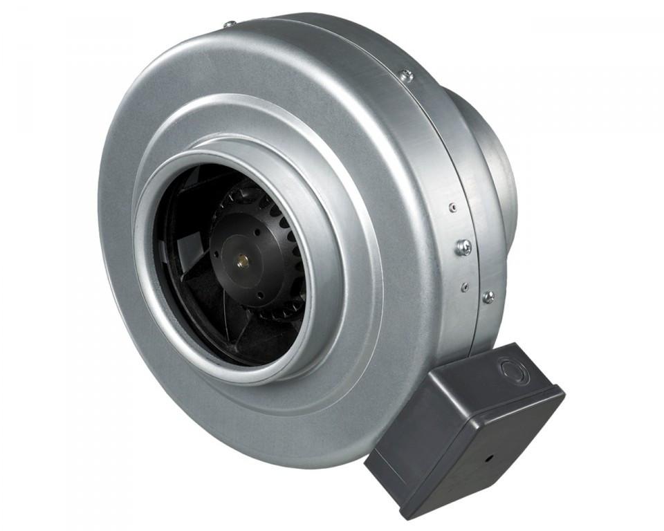 Buisventilator BS 200 van staal 1000 m3/h