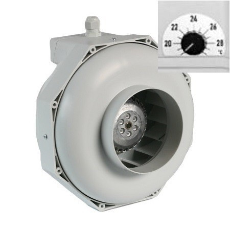 Can-Fan buisventilator RKW 160L 820m3/h 160 mm