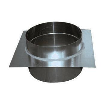 Aluminium Dakdoorvoer Recht Diameter Ø 350 mm
