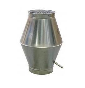 KRS Deflectorkap / Dakkap Ø 250mm