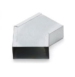 Haakse (instort)bocht 45º 170mm x 70mm (Rechthoekig)