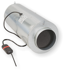 Can-Fan ISO MAX Buisventilator 150 410M3/h  Ø 150mm met 3 standen