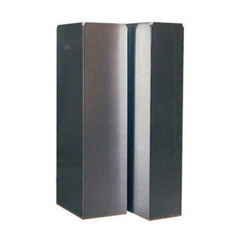 Luchtkanaal Aluminium Vierkant 200x200 mm 1 meter
