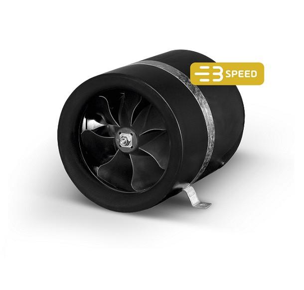 Max-Fan Buisventilator 200 910m3/h 3 standen Ø 200mm