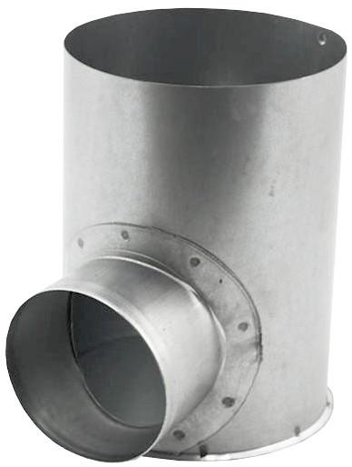 Open instortpot (max) Ø150mm, Hoogte - ≤ 120mm (onder de opening)