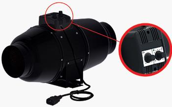 Stille Buisventilator S-vent silent M125U 340m3/h