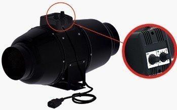 Stille Buisventilator S-vent silent M100U 240m3/h