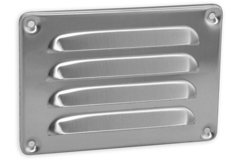 Schoepenrooster 130 x 90mm aluminium