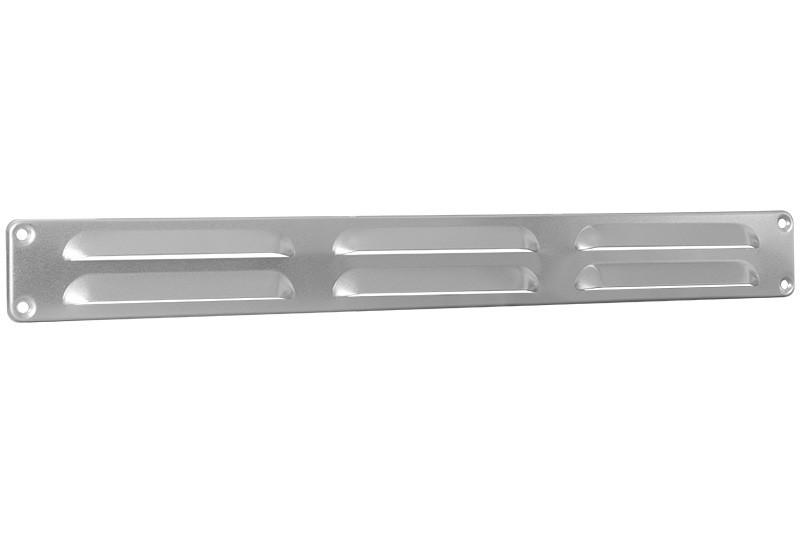 Schoepenrooster 370x40mm aluminium