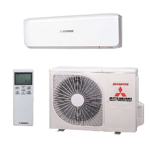 Mitsubishi inverter airco SRK50ZS-W+SRC50ZS-W5,0kW