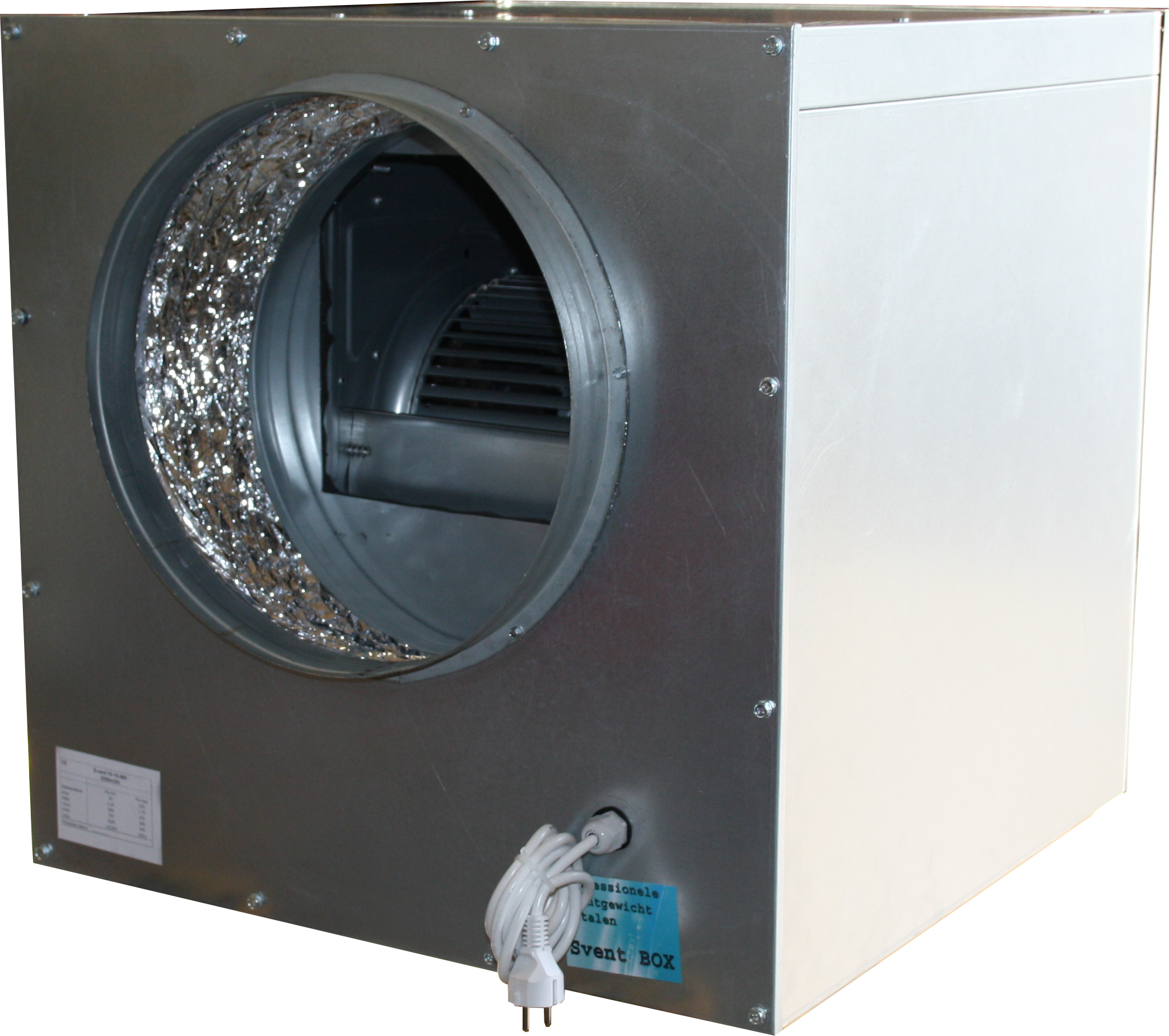 Spirototaal.nl Soft box ventilator 6000m3