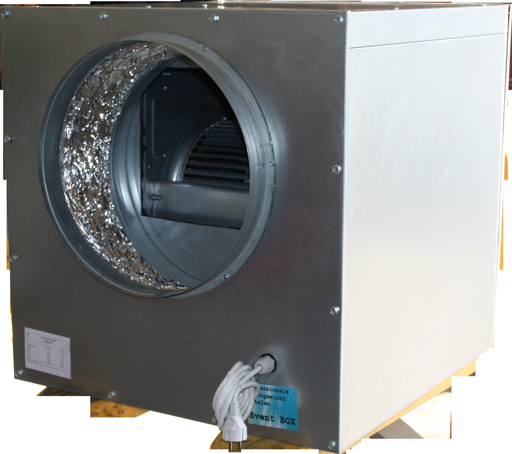 Spirototaal.nl Soft box ventilator 1200m3