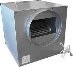 Spirototaal stalen ventilatorbox 750m3