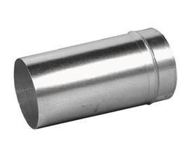 Verlengde verbindingsstuk voor spirobuis Ø80mm