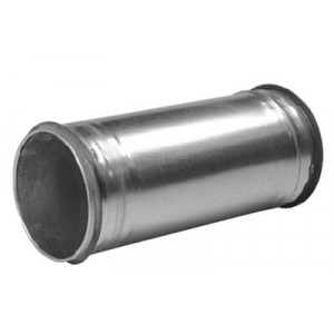 Verlengde verbindingsstuk voor spirobuis SAFE Ø125mm