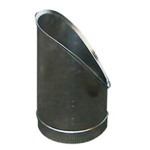 T-Stuk Los Schuin Aluminium Rond Diameter Ø 200 mm